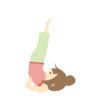 背中立ちができない…逆立ちのコツと効果!1か月で出来る方法 | 健康とダイエットにま